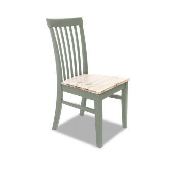 Florence high back green chair